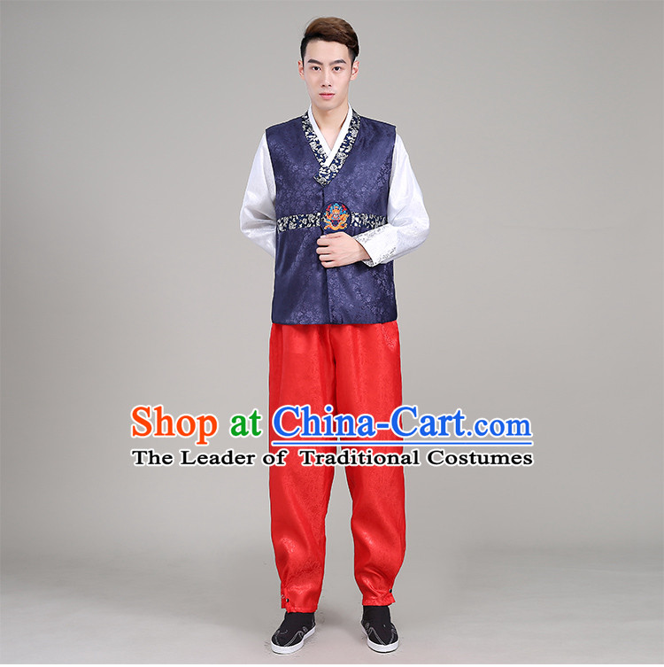 Korean Traditional Men Formal Dress Men Clothes Traditional Korean Traditional Costumes Wedding Dress Full Dress Formal Attire Ceremonial Dress Court