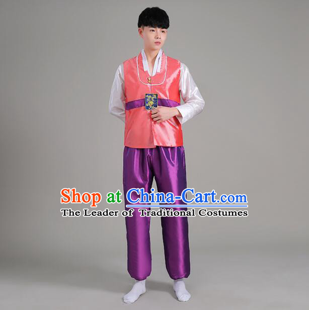 High Quality Korean Dancing Clothes Men Stage Costumes Traditional Costumes Korean Full Dress Formal Attire Ceremonial Dress  Dae Jang Geum