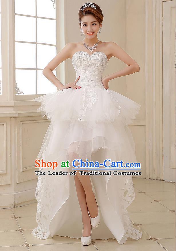 Women Short Wedding Dress