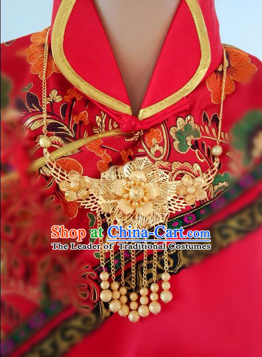 Wedding Jewelry Accessories Traditional Xiuhe Suits Wedding Bride