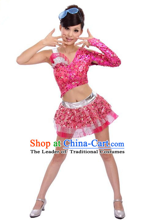 High-quality Dancewear Costumes for Jazz, Tap, Lyrical, Hip Hop and Ballet, Folk Dance Costume, Jazz Dancing Cloth for Women