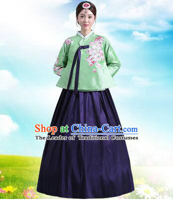 a521bbe7e Korean Court Dress Girl Stage Costumes Show Traditional Clothes ...