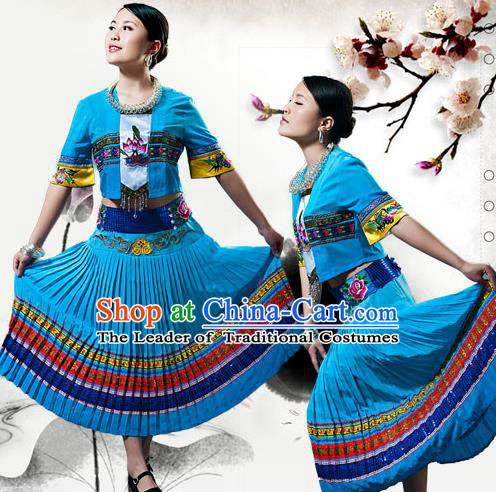 http://www.sznews.com/Chinese%20national%20culture/images/attachement/jpg/site3/20150410/78e3b5a05dba1691df4134.jpg_traditional chinese tujia national minority costumes, china