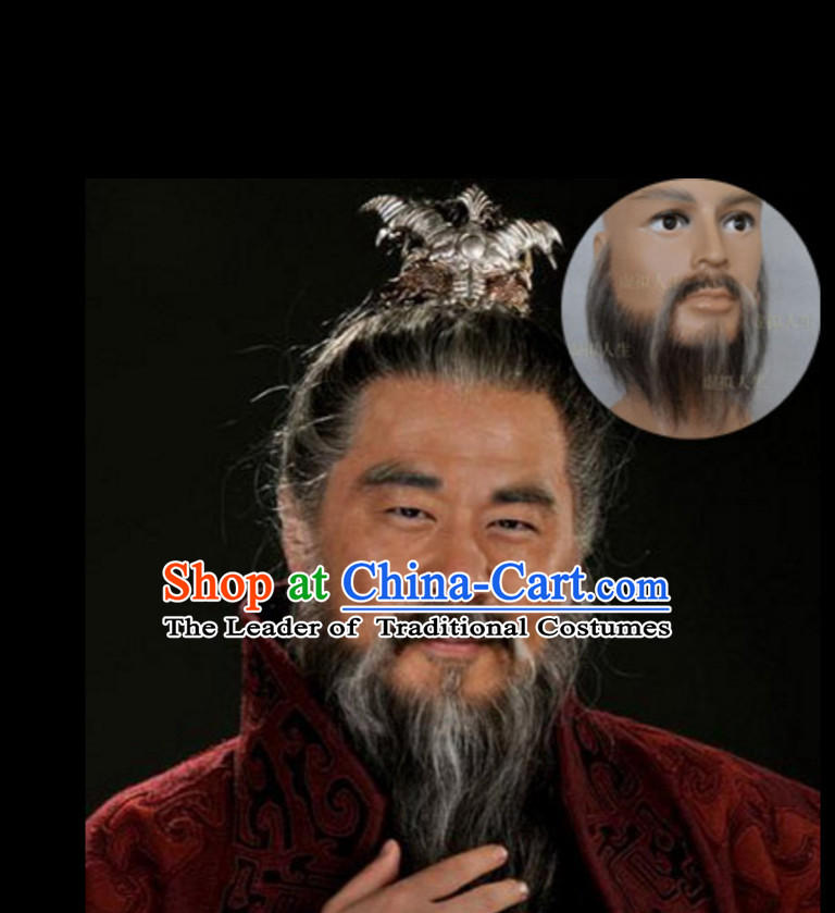 Chinese Ancient Emperor Beard