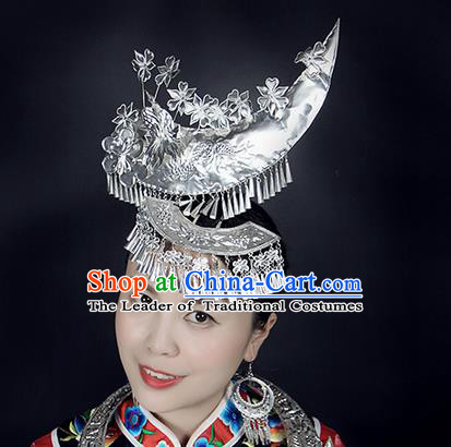 Traditional Chinese Miao Nationality Sliver Jewelry