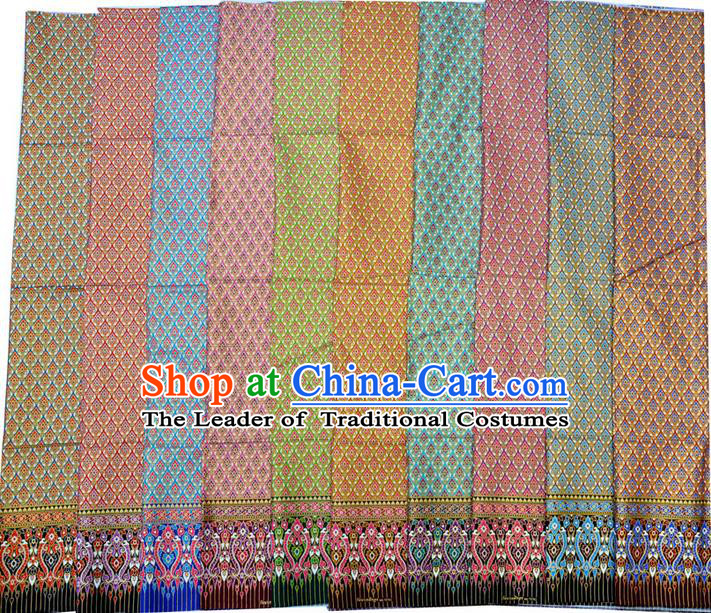 Traditional Asian Thai Sarees and Dress Material, Thai Clothes and Fabrics for Women