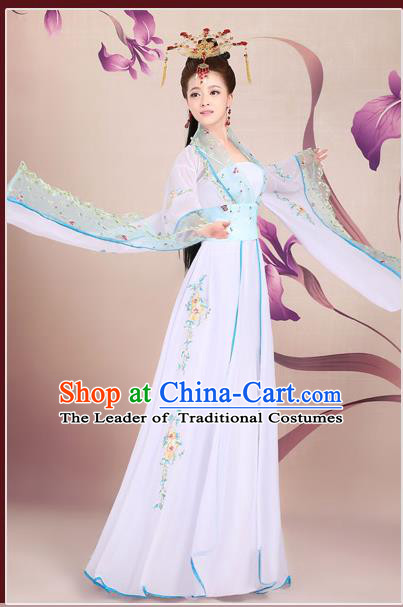 Ancient Chinese Palace Empress Costumes Complete Set, Tang Dynasty Ancient Palace Princess Dress