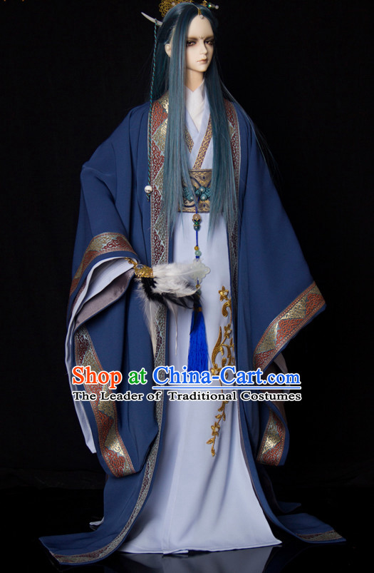 Chinese Style Dresses Chinese Scholar Clothing Clothes Han Chinese Costume Hanfu for Men Adults Children