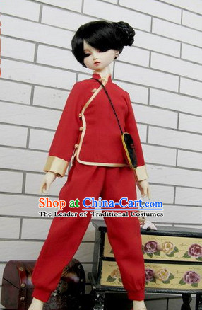Chinese Classic Mandarin New Year Costumes for Girls or Women