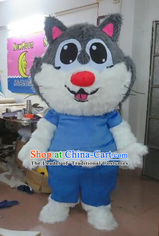 Free Design Professional Custom Mascot Uniforms Mascot Outfits Customized Cute Animal Cat Mascots Costumes
