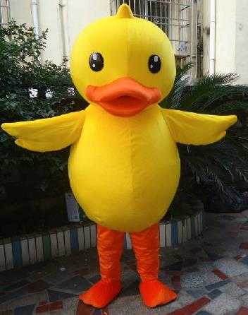 Mascot Uniforms Mascot Outfits Customized Walking Animal Duck Mascot Costumes Mascots Costume