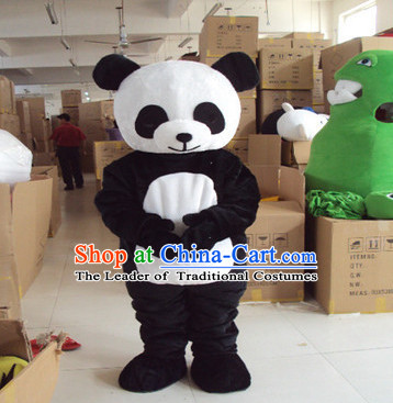 Mascot Uniforms Mascot Outfits Customized Walking Mascot Costumes Panada Mascots Costume