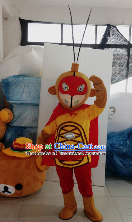 Mascot Uniforms Mascot Outfits Customized Walking Mascot Costumes Animal Monkey King Sun Wukong Mascots Costume