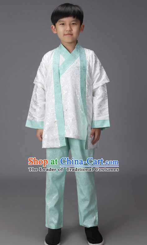 Ancient Chinese Classical Hanfu Outfits Clothing Complete Set for Kids