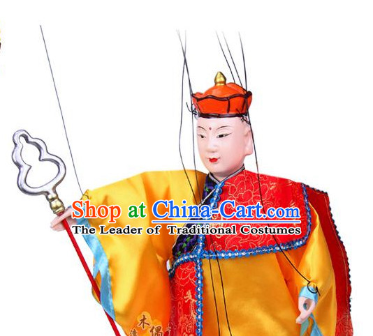 Traditional Chinese Handmade Tang Seng String Puppet Hand Puppets
