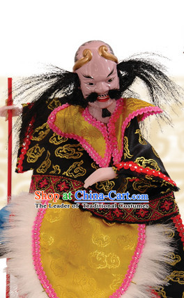 Traditional Chinese Handmade Tie Guaili Immortal Hand Puppets Hand Marionette Puppet