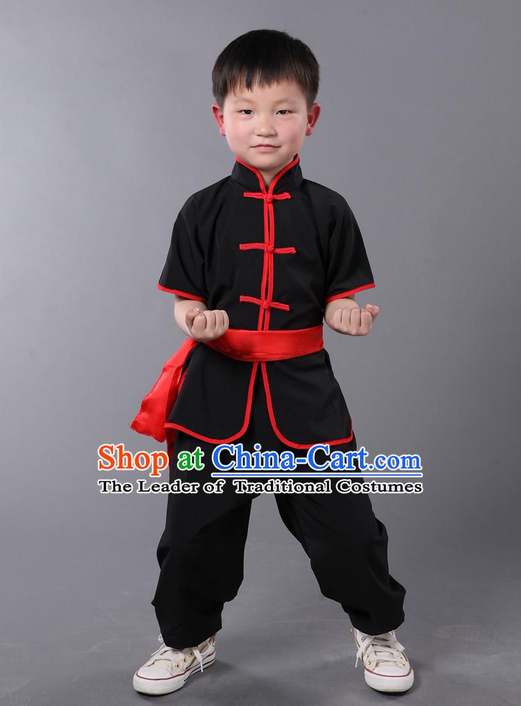 Chinese Traditional Kung Fu Costume Wing Chun Apparel Taiji