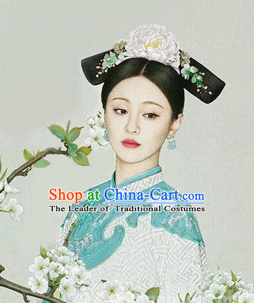Ancient Chinese Handmade Zhen Shuang Style Headpieces