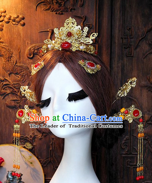 Ancient Chinese Hair Style Accessories Hair Sticks Clips Hair Pin Hair Pieces Combs Ancient Chinese Chopsticks Asian Wedding Bridal Hair Ornaments