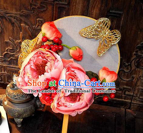Handmade Ancient Chinese Empress Princess Empress Jade Fan