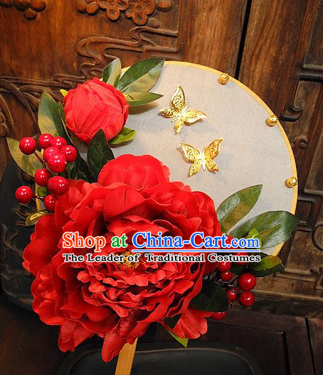 Handmade Ancient Chinese Empress Princess Empress Fan