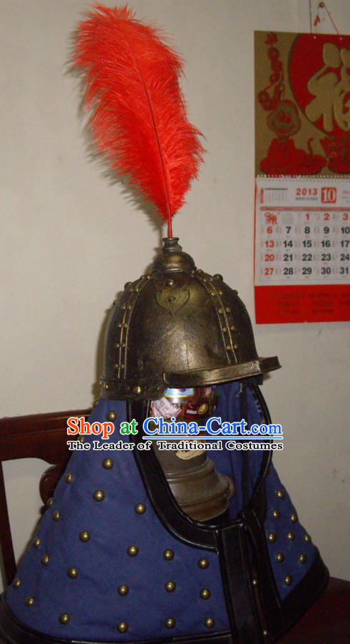 Ancient Chinese General Fighter Helmet Hat for Soliders