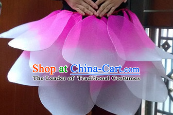 Handmade Lotus Skirt Dance Props Props for Dance Dancing Props for Sale for Kids Dance Stage Props Dance Cane Props Umbrella Children Adults