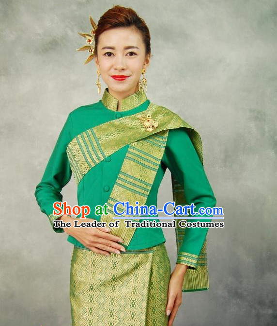 32a733f33e1e Traditional National Thai Dress Thai Traditional Dress Dresses Wedding  Dress online for Sale Thai Clothing Thailand ...