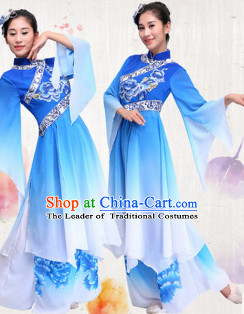 Chinese Traditional Classic Dance Costumes Dress online for Sale and Headdress Complete Set for Women Girls Adults Youth Kids
