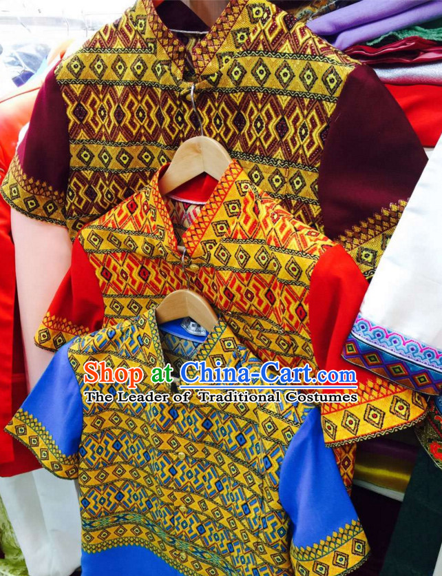 Top Traditional National Thai Garment Dress Thai Traditional Dress Dresses Wedding Dress Complete Set for Men