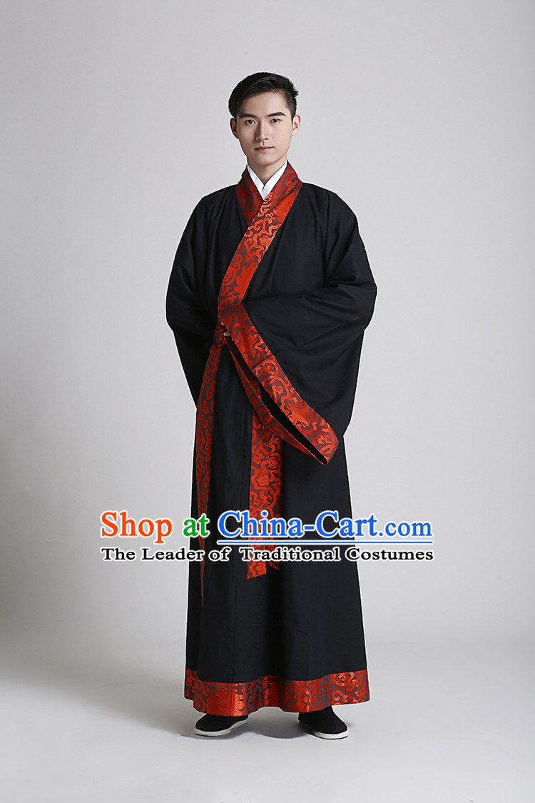 new collection quality casual shoes Traditional Hanfu Clothing Dress Buy Male Costume Robe ...