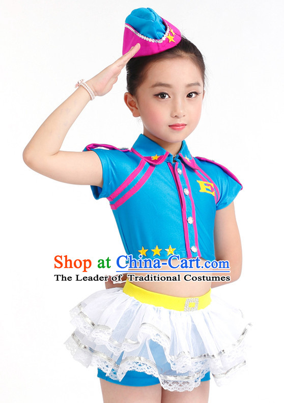c3edc268b2b1 Chinese Competition Modern Dance Costumes Kids Dance Costumes Folk ...