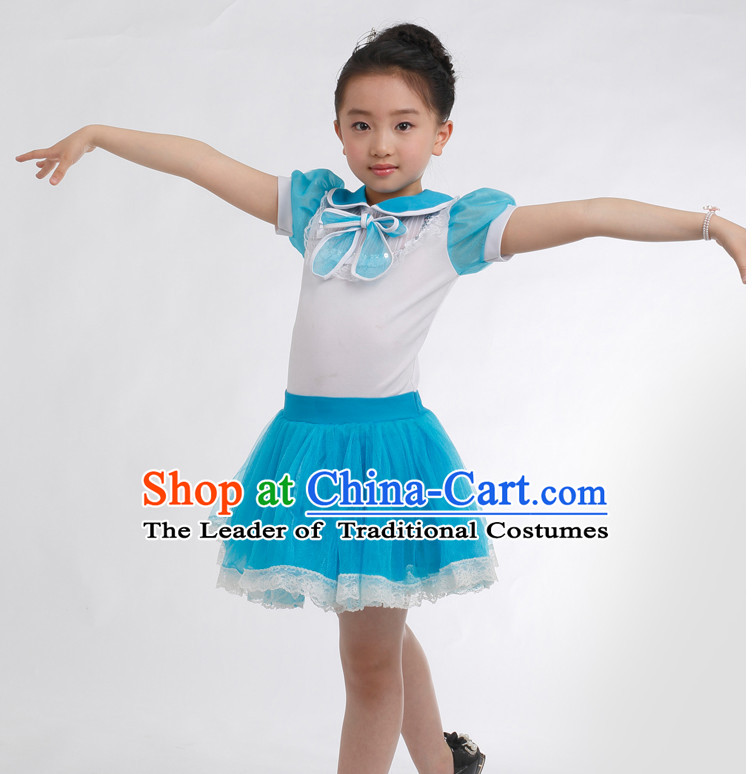 1749d6747 Chinese Competition Modern Dance Costumes Kids Dance Costumes Folk ...