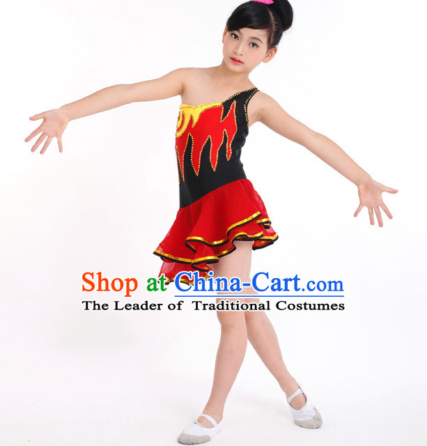 f3e5ee916 Chinese Competition Modern Dance Costumes Kids Dance Costumes Folk Dances  Ethnic Dance Fan Dance Dancing Dancewear ...