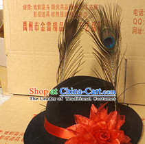 Chinese Headdress Wedding Bridal Bridegroom Hat for Men