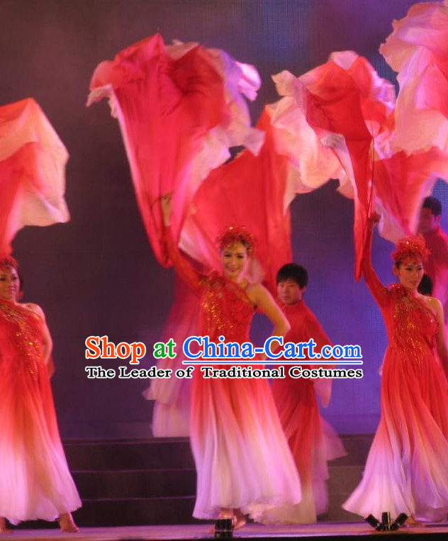 Traditional Chinese Flower Petal Dance Dancing Props