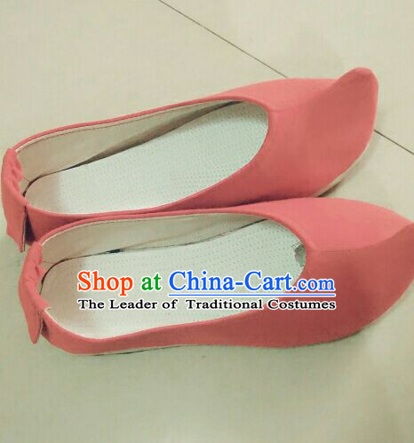 Chinese Ancient Handmade Traditional Bow Shoes for Women and