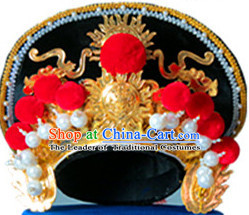 Chinese Traditional Bian Lian Mask Change Hat Helmet