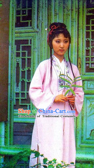 Dream of Red Chamber Lin Daiyu Costumes Complete Set for Women or Girls