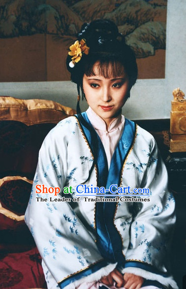 Dream of Red Chamber Lin Daiyu Costume Complete Set for Women or Girls
