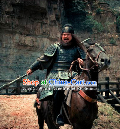 Asian Ancient Chinese Superhero Guan Yu Warrior Body Armor for Sale Complete Set for Men or Boys