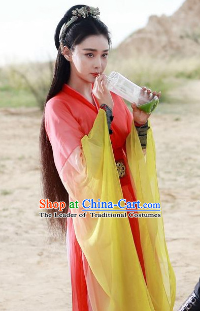 Ancient Chinese Traditional Fairy National Hanfu Dress Costumes Clothes Ancient China Clothing for Ladies