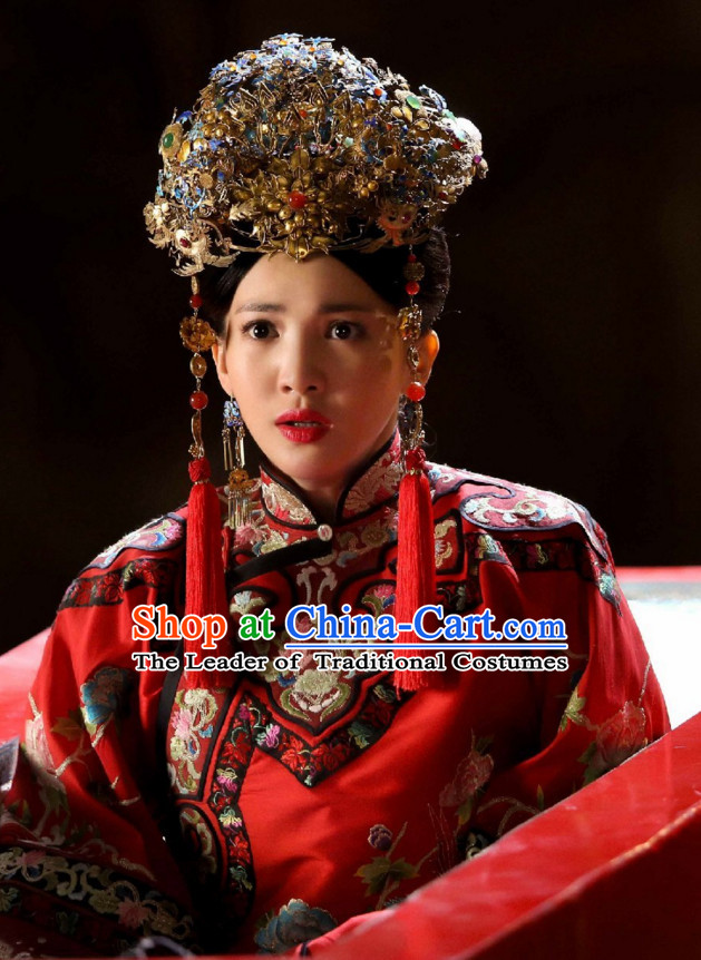 Ancient Chinese Style Authentic Clothes Culture Costume Han Dresses Traditional National Dress Clothing for Girls Kids Adults Men Women