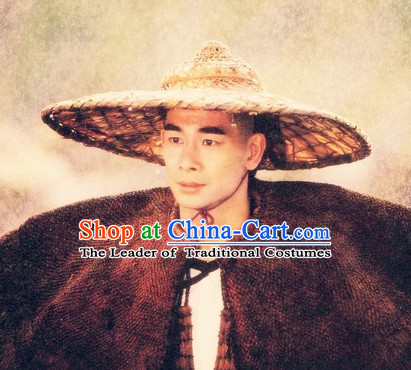 Ancient Chinese Style Bamboo Hat for Men
