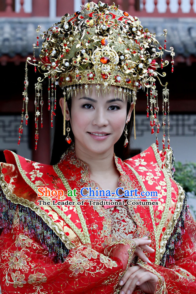 Traditional Ancient Chinese Style Bridal Wedding Hat for Women