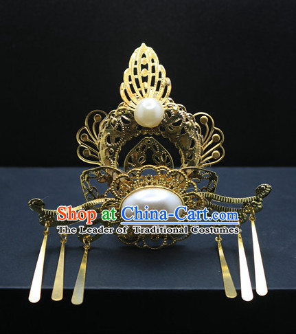 Ancient Chinese Imperial Royal Queen Hair Jewelry