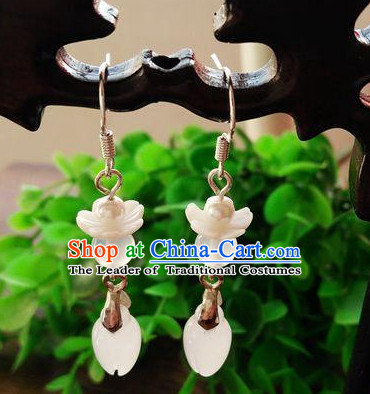 Chinese Traditional Ancient Imperial Empress Earrings