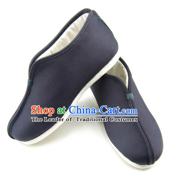 Top Chinese Classic Traditional Tai Chi Shoes Kung Fu Shoes Martial Arts Winter Boots for Men