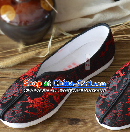 Top Chinese Classic Traditional Kungfu Master Tai Chi Shoes Kung Fu Shoes Martial Arts Fabric Shoes