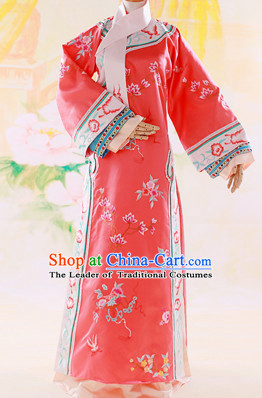 Chinese Imperial Palce Empress Princess Garment Complete Set for Women Girls